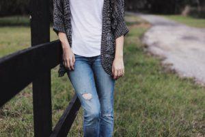 Personne, Jeans, La Mode, Style, Chemise
